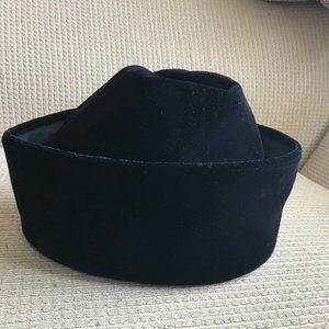 Saks Fifth Avenue Women's Black Velvet Hat